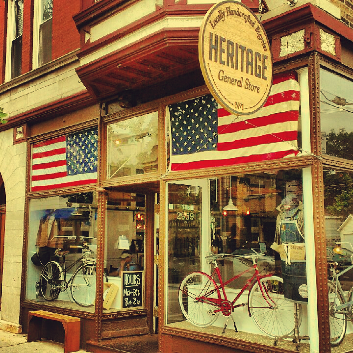 Heritage Bicycles Outpost collaboration with Flats Chicago