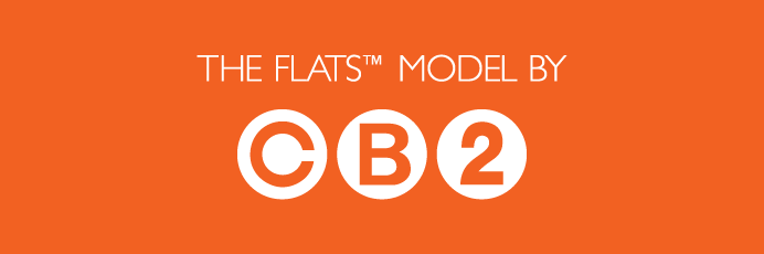 The Flats Chicago model by CB2 in Uptown