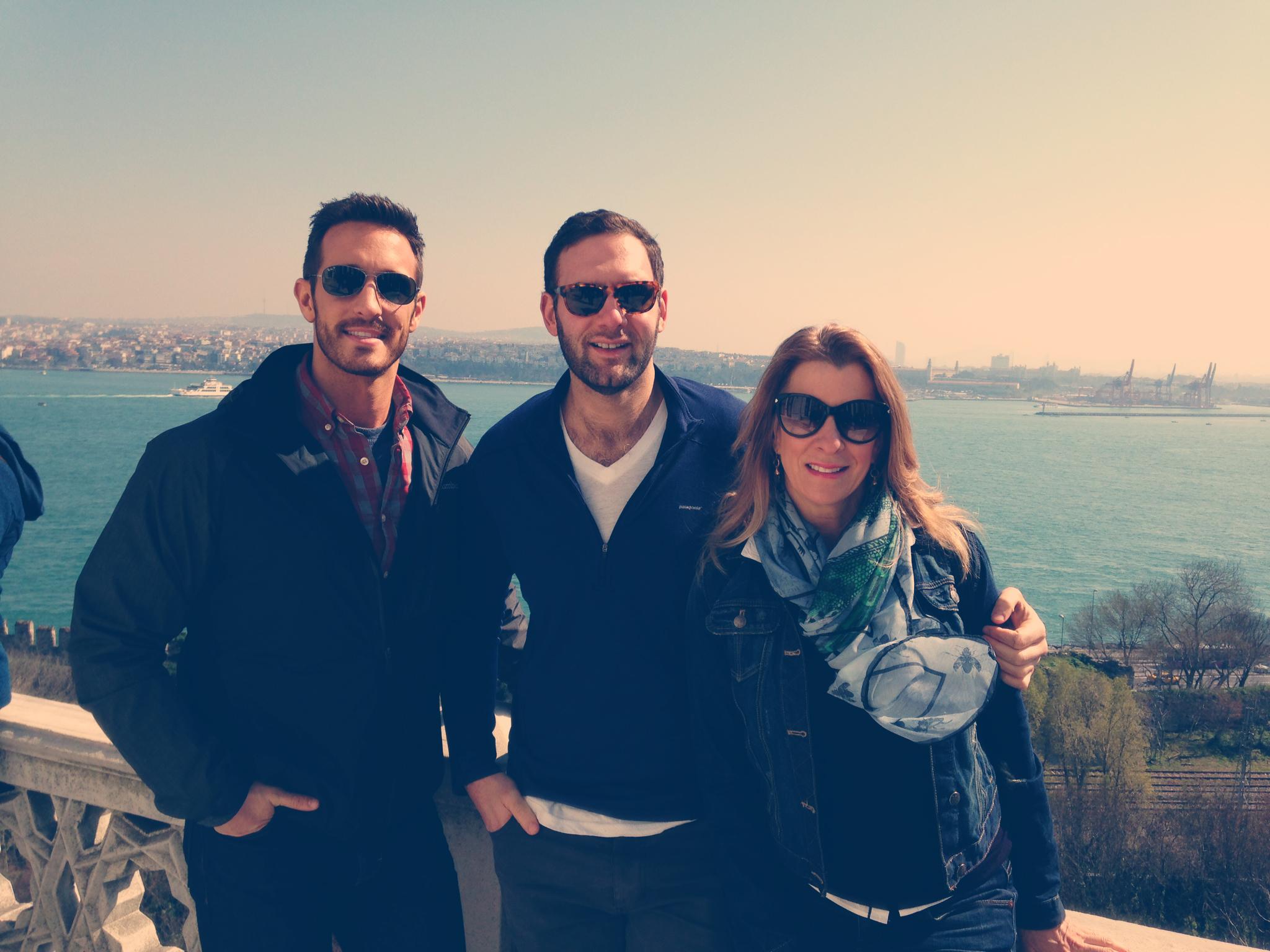 Rick, Linda, and Me at Topkapi Palace